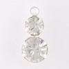 37102 2 Stone Loop SS39 S Crystal